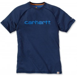 T-SHIRT anti transpirant CARHARTT BLEU ROYAL FORCE