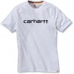 T-SHIRT anti transpirant CARHARTT blanc FORCE