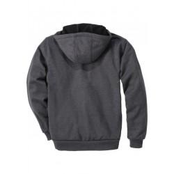 Sweat-shirt zippé capuche gris Windfighter carhartt