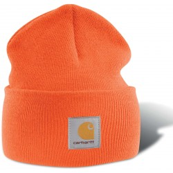 BONNET ORANGE FLUO TRICOTÉ CARHARTT