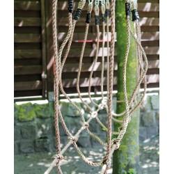 Pont de cordes plastique résistantes pour enfant à partir de 3 ans