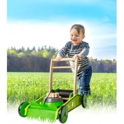 Chariot de marche tondeuse à gazon jouet en bois