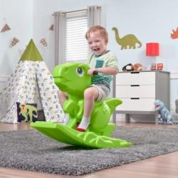 STEP2 DINO ROCKER DINOSAURE VERT A BASCULE JOUET PLASTIQUE POUR ENFANT 1,5 AN