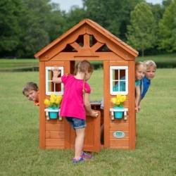 Backyard Maison de jeu Timberlake en bois jardin enfant 2 ans