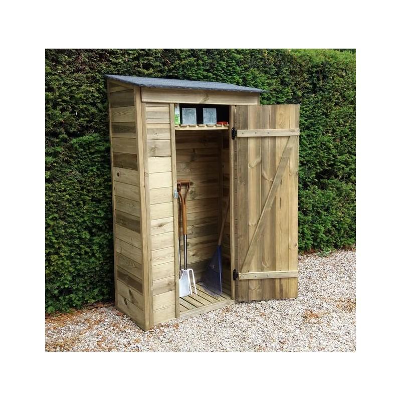 Abri de jardin bois autoclave HABRITA Arm 1105 a Ep.12 mm