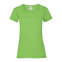 T-SHIRT XS au 2XL FEMME LIME VALUEWEIGHT FRUIT OF THE LOOM SC61372