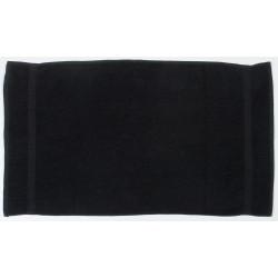 SERVIETTE DE TOILETTE NOIR 130 x 70 cm coton 550gr/m2