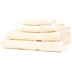 SERVIETTE DE TOILETTE Crème 90 x 50 cm coton 550gr/m2
