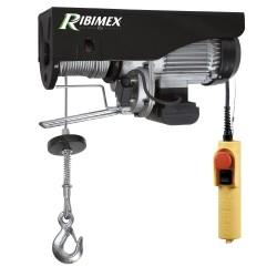 Palan 495/990 kg 1600 w électrique télécommande Ribimex