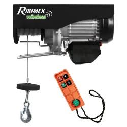 Palan 200/400 kg électrique avec télécommande Ribimex