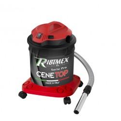 Nettoyeur 18 L 1200 W de cendres électrique Cenetop Ribimex