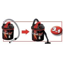 Kit aspirateur à sec pour nettoyeur de cendres Ribimex