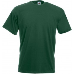 T-SHIRT 3/4ans à 14/15ans ENFANT VERT BOUTEILLE VALUEWEIGHT FRUIT OF THE LOOM SC221B