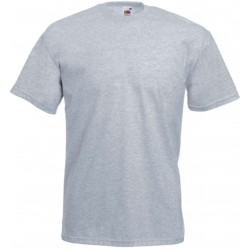 T-SHIRT 3/4ans à 14/15ans ENFANT GRIS CLAIR VALUEWEIGHT FRUIT OF THE LOOM SC221B