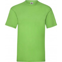 T-SHIRT 3/4ans à 14/15ans ENFANT LIME VALUEWEIGHT FRUIT OF THE LOOM SC221B