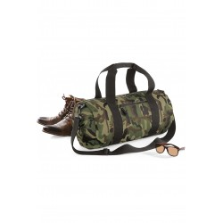 Sac baril Camouflage olive militaire de voyage Bagbase