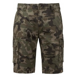 Bermuda multipoches camouflage homme militaire Kariban