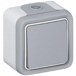 Legrand bouton Poussoir étanche NO 10A Plexo complet IP55 saillie 069720 0 697 20