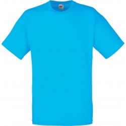 t-shirt S au 3XL bleu azur homme valueweight fruit of the loom SC221