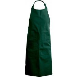 tablier de cuisine vert bouteille 100% coton kariban k885