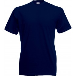 t-shirt S au 3XL bleu marine foncé homme valueweight fruit of the loom SC221