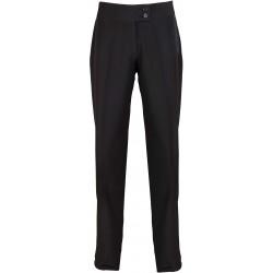 """Pantalon noir droit """"Iris"""" pour esthétique ou spa marque premier PR536"""