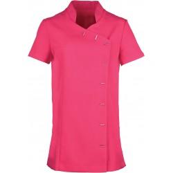 """Tunique rose femme boutonnée """"Orchid"""" polyester marque premier PR682"""