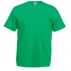 t-shirt S au 3XL vert irlandais homme valueweight fruit of the loom SC221