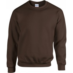 SWEAT-SHIRT  CHOCOLAT COL ROND HEAVY BLEND GILDAN GI18000