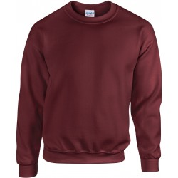 SWEAT-SHIRT  MARRON COL ROND HEAVY BLEND GILDAN GI18000