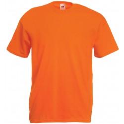 T-Shirt S au 3XL orange homme valueweight fruit of the loom SC221